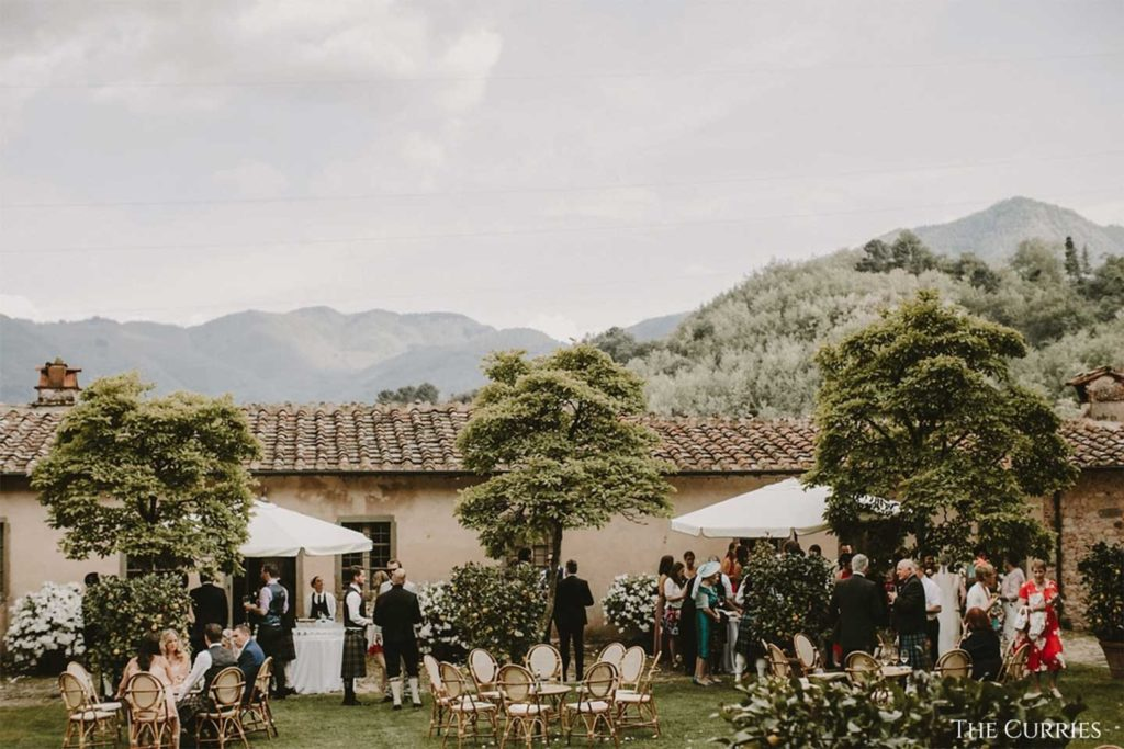 the curries Villa Catureglio - Kate and Rose Weddings - Wedding Planner Italy - Tuscany wedding venue
